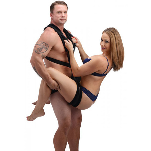 Frisky Stand and Deliver Sex Position Body Sling