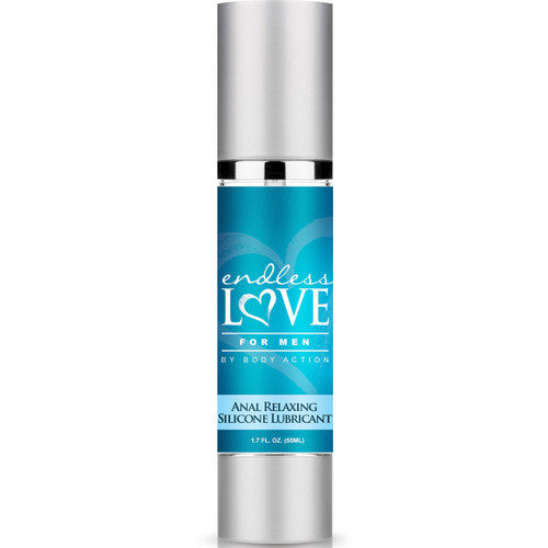 Body Action Endless Love for Men Anal Relaxing Silicone Lubricant 1.7 oz