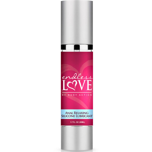 Body Action Endless Love Anal Relaxing Silicone Lubricant 1.7 oz