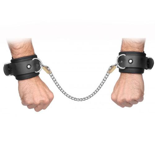 Master Series Neoprene Buckle Cuffs with Locking Chain Kit
