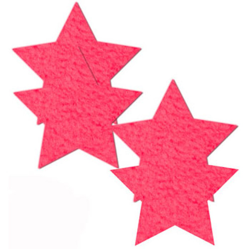 Pastease Petite Neon Pink Day-Glow Star Shaped Pasties
