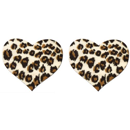 Pastease Cheetah Print Heart Shaped Pasties