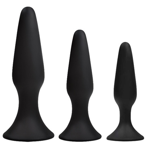 NS Novelties Renegade Sliders Trainer Silicone Butt Plug Set