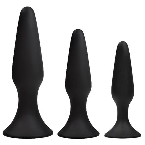 NS Novelties Renegade Sliders Trainer Silicone Butt Plug Set