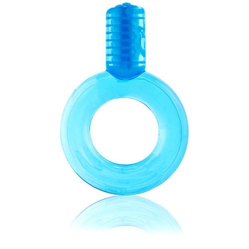 Screaming O GO Vibe Ring Vibrating Erection Enhancer Blue
