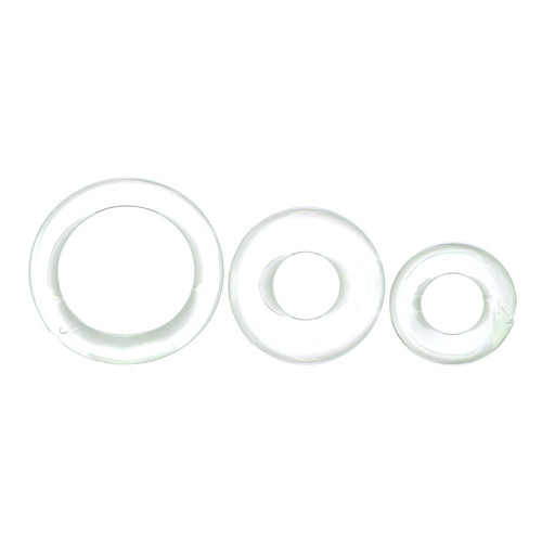Buy the RingO X3 Love Ring Erection Enhancing 3-Pack Clear - Screaming O