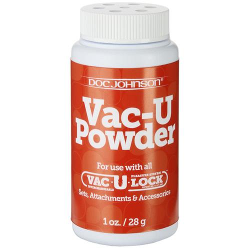 Doc Johnson Vac-U-Lock Vac-U-Powder Lubricant 1 oz