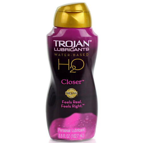 Trojan Lubricants H2O Closer Water-based Lubricant 5.5 oz