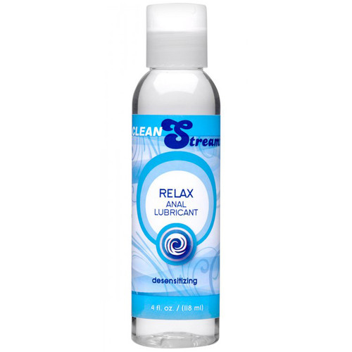 XR Brands CleanStream Relax Light Desensitizing Anal Lubricant 4 oz