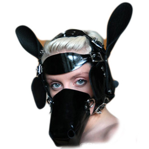 StockRoom Ponyhead Bridle Set Black Patent