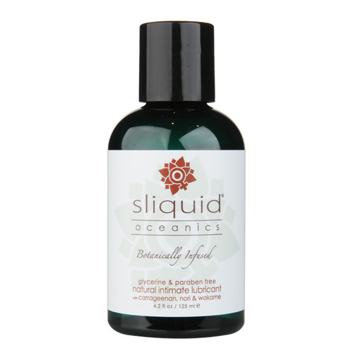 Sliquid Oceanics Botanically Infused Water-based Lubricant 4.2 oz