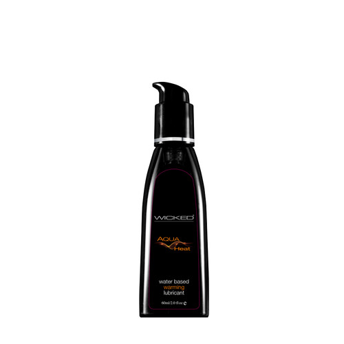 Buy the Aqua Heat Warming Water-based Lubricant 2 oz - Wicked Sensual Care