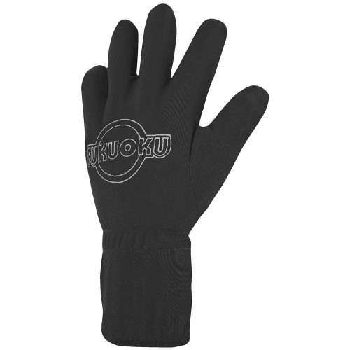 Fukuoku Five Fingers Vibrating Massage Glove Left Medium Black