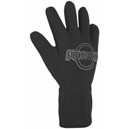 Fukuoku Five Fingers Vibrating Massage Glove Right Large Black