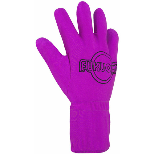 Fukuoku Five Fingers Vibrating Massage Glove Right Small Pink