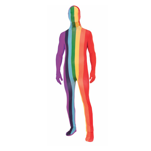 Forum Novelties Rainbow Disappearing Man Suit