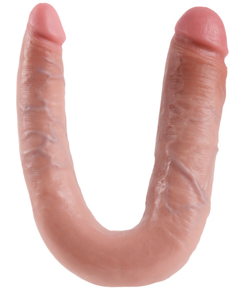 King Cock Large Double Trouble Realistic Double Dong Flesh