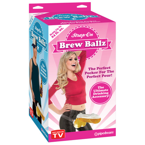 Pipedream Toys Strap-On Brew Ballz Beer Dispenser