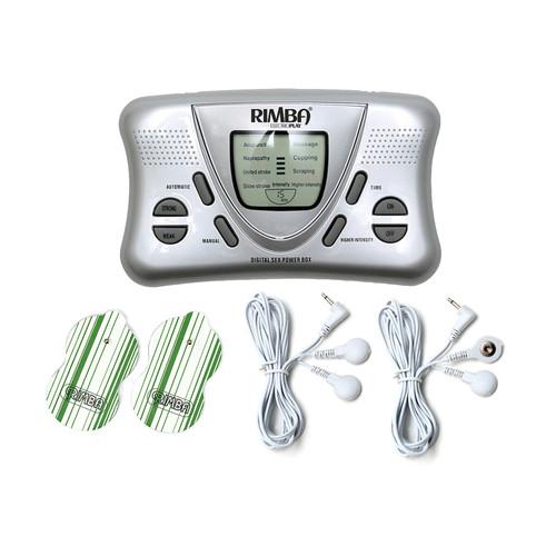 Buy the Rimba 7880 Electrostimulation 2 Channel Digital estim Electrosex Power Box Set with LCD Display Electroerotic tens