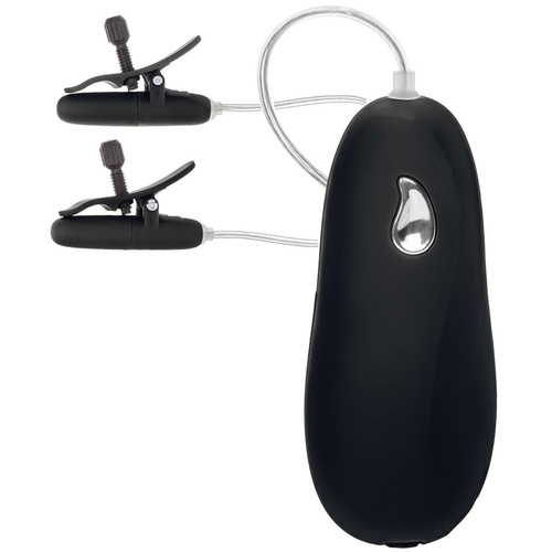 Cal Exotics nipple play Vibrating Heated Nipple Teasers Black
