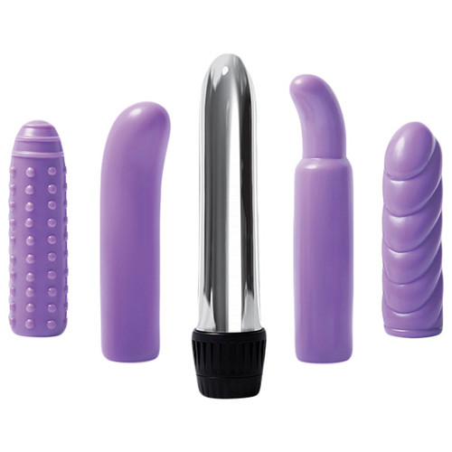 Evolved Novelties Multi Sleeve Vibrator Kit