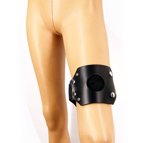 Axovus Leather Strap-On Thigh Harness