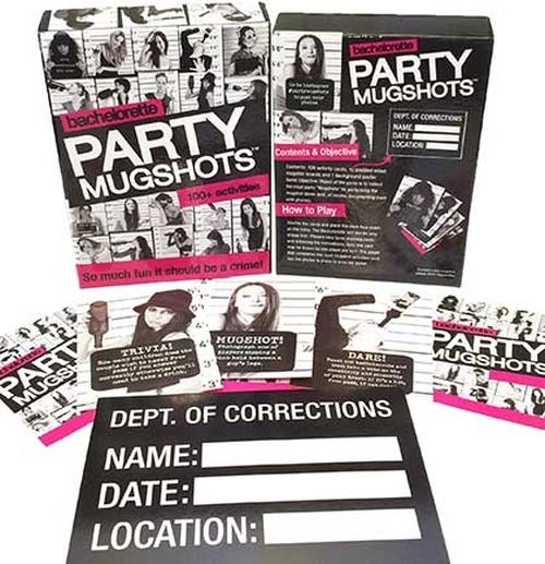 Buy the Bachelorette Party Mugshots Game - Lil Genie