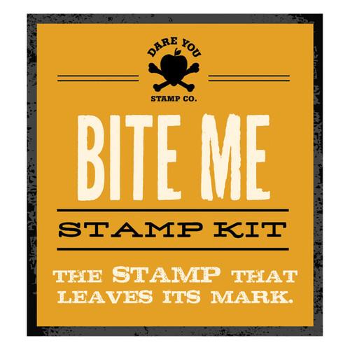 Bite Me Stamp Kit
