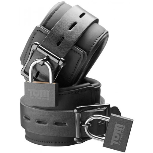 Tom of Finland Locking Neoprene Wrist Cuffs