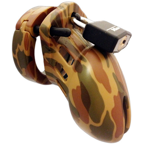 CB-X CB-6000S Male Chastity Device Designer Series Camo Short