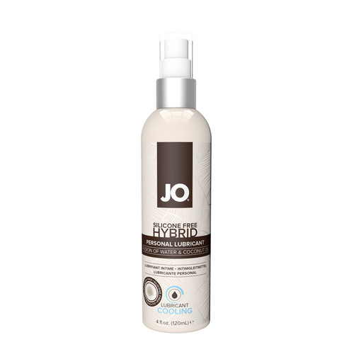 Buy the Silicone-free Hybrid Cooling Water-based/Coconut Lubricant 1 oz - System JO