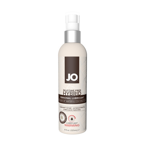 Buy the Silicone-free Hybrid Warming Water-based/Coconut Lubricant 4 oz - System JO