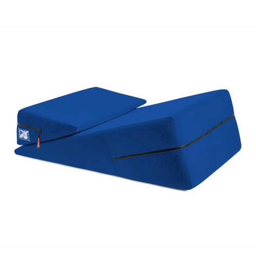Liberator Wedge/Ramp Combo Position Pillow Sapphire Blue