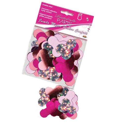 HOTT Products Bachelorette Party Jumbo Mylar Pecker Party Confetti