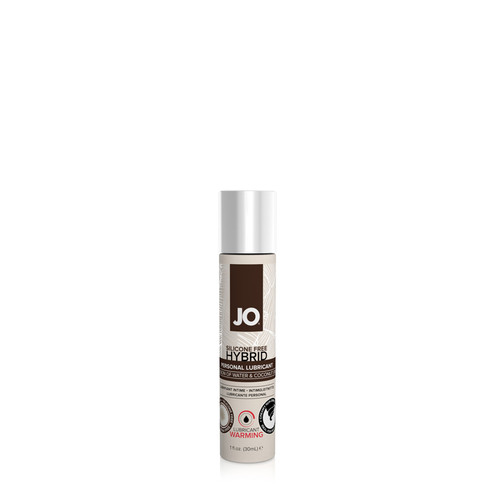 Buy the Silicone-free Hybrid Warming Water-based/Coconut Lubricant 1 oz - System JO