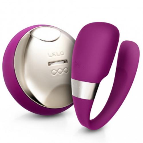 LELO TIANI 3 Wireless Couples Massager Deep Rose