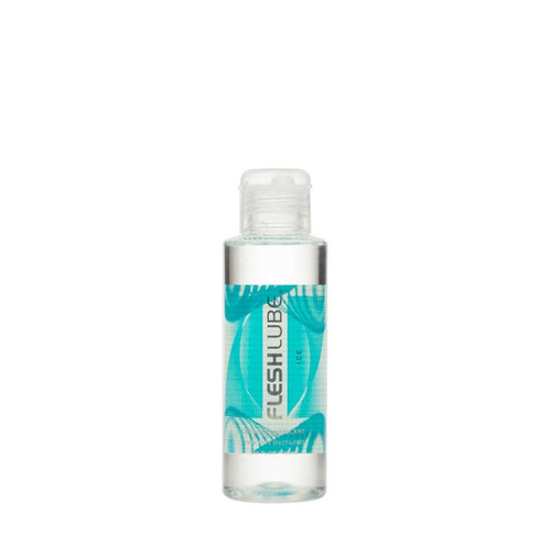 Buy the Fleshlube Ice Water-based Cooling Lubricant Paraben-free USA made in 4 oz or 100 ml - Interactive Life Forms FleshLight