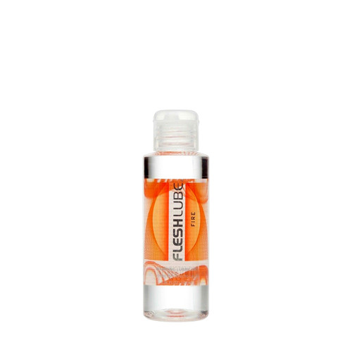 Buy the Fleshlube Fire Water-based Warming Lubricant Paraben-free USA made in 4 oz or 100 ml - Interactive Life Forms FleshLight