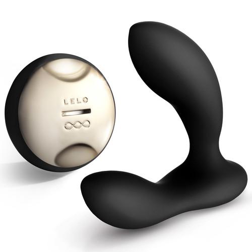 LELO HUGO Remote Control Silicone Prostate Stimulator Obsidian Black