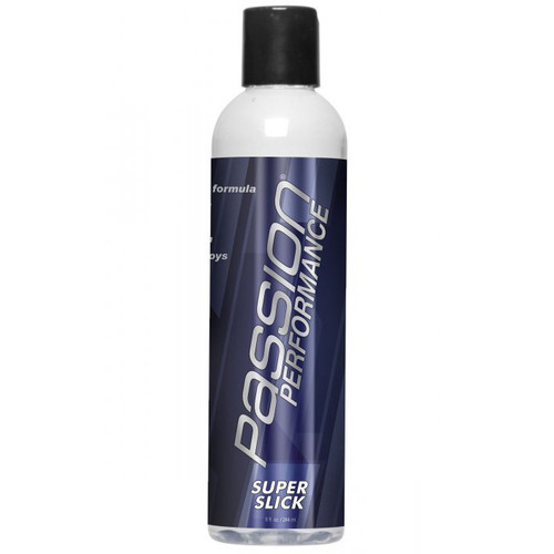 Passion Performance Super Slick Hybrid Water & Silicone Blend Lubricant 8.25 oz