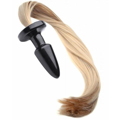 Frisky Blondie's Pony Tail Butt Plug