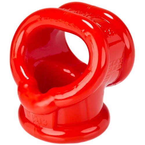 OXBALLS CockSling 2 Cock & Ball Ring Red