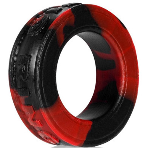 OXBALLS Pig-Ring Silicone Cock Ring Fist Red