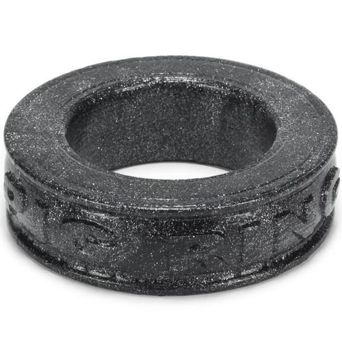 OXBALLS Pig-Ring Silicone Cock Ring Smoke Metallic