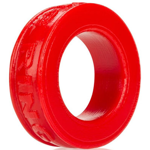 OXBALLS Pig-Ring Silicone Cock Ring Red