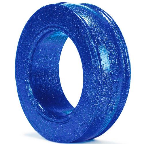 OXBALLS Pig-Ring Silicone Cock Ring Blueballs Metallic Blue