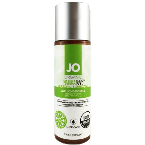 Buy the Organic Naturalove with Chamomile USDA Certified Water-based Lubricant 2 oz - System JO