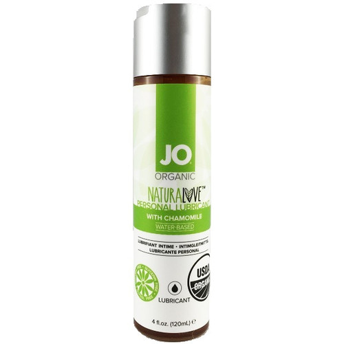 Buy the Organic Naturalove with Chamomile USDA Certified Water-based Lubricant 4 oz - System JO