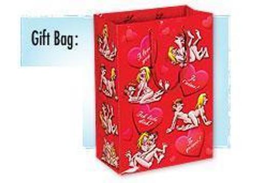I Love You Sex Tall Gift Bag
