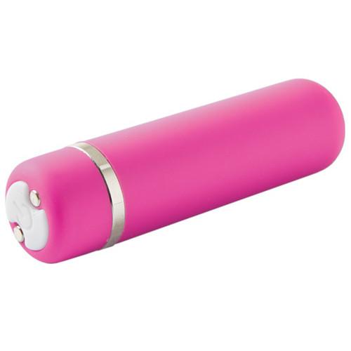 NU Sensuelle Joie 15-Function Rechargeable Bullet Vibrator Pink